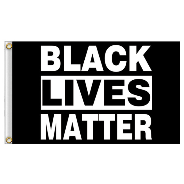 BLACK LIVES MATTER Flag (IT'S TIME FOR CHANGE!)