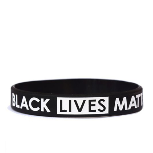 BLACK LIVES MATTER Silicone Bracelet (IT'S TIME FOR CHANGE!)