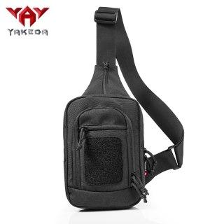 YAKEDA Nylon Tactical sling bag Cross Body Gun Backpack design for handgun move quickly-KF-083