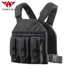 YAKEDA Military Vest Tactical Plate Carrier Rapid Assault Vest-VT1099