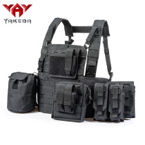Yakeda Tactical vest Rapid Assault Chest Rig SWAT Vest  VT-099