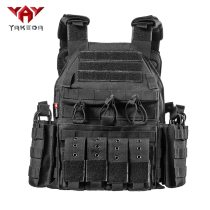 Yakeda Forces Combat Tactical Vest, Army Fans Outdoor Vest Cs Game Vest,expand Training vest