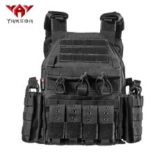 Yakeda Forces Combat Tactical Vest, Army Fans Outdoor Vest Cs Game Vest,expand Training vest