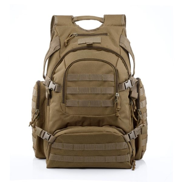 2019 New YaKeda Brand Man and Women 55L Large Capacity Outdoor Sports Basketball Waterproof Camouflage Backpack Mountain Bag