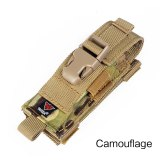 2019 Sports 1000D Nylon Camouflage Tactical MOLLE Hunting Holster Cartridge Clip Bullet Tool Knife Belt Pouch Sheath