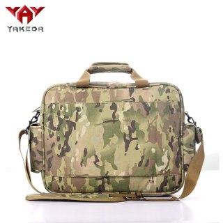 Tactical Brief Case Outdoor 15.6  Laptop Bag Multifunction Handbags Briefcase camouflage Laptop Bag