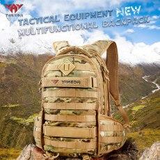 Yakeda Tactical Backpack 1000D Military  Army Bag Outdoor Waterproof 40L Bagpack Waterproof Travel Hiking Mochila Molle Bags