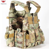 YAKEDA lightweight JPC airsoft combat military army bullet proof vest chalecos antibalas gilet tactical plate carrier