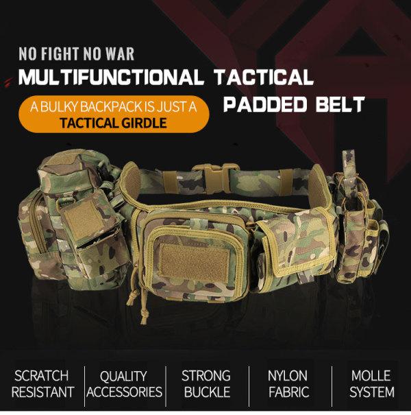 Molle Tactical waist pack, versatile patrol outdoor combination belt kit