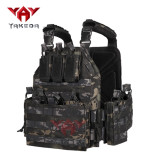 YAKEDA Quick Release Plate Carrier Vest In Stock Molle Chaleco Tactico Tactical Vest for Outdoor Shooting