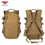 YAKEDA new design polyester laser molle bag hiking softback back pack military tactico molle backpack
