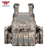 YAKEDA quick release swat jpc military molle army tactical bullet proof plate carrier vest for hunting