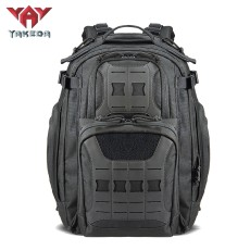 YAKEDA Military Tactical Backpack for Men Army 3 Day Assault Pack 42L Large Molle Hiking Backpack