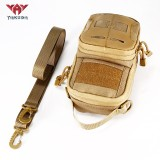 YAKEDA Tactical EDC Pouch Bag Waist Bags Pouch for Men Molle Military Belt Pouch Shoulder Bag
