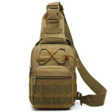 yakeda Small outdoor waterproof EDC laser cut pistol concealed tactical crossbody shoulder pack chest sling chest bag