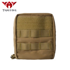 YAKEDA waterproof emergency military molle small tactical first aid pouch medical kit bag