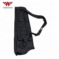 yakeda molle black outdoor hunting holder archery bow arrow quiver bag shotgun scabbard