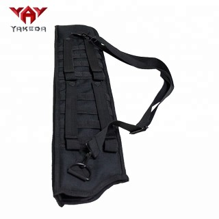 yakeda molle black outdoor hunting holder archery bow arrow quiver bag shotgun scabbard