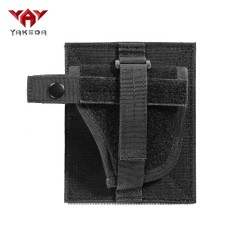 yakeda removable black tactical weapon bags waterproof gun case holder pistol holster