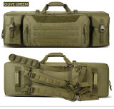 Tactical backpack,High capacity bow and arrow double - layer fishing tackle bag,Human CS is equipped with a launcher that packs water bombs