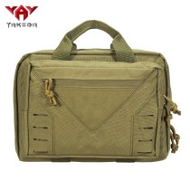 YAKEDA waterproof tactical military padded laptop pad pistol concealed bag