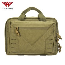 YAKEDA waterproof tactical military padded laptop pad pistol concealed bag