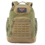 YAKEDA military tactical laser cutting waterproof backpack hiking travel school laptop backpacks