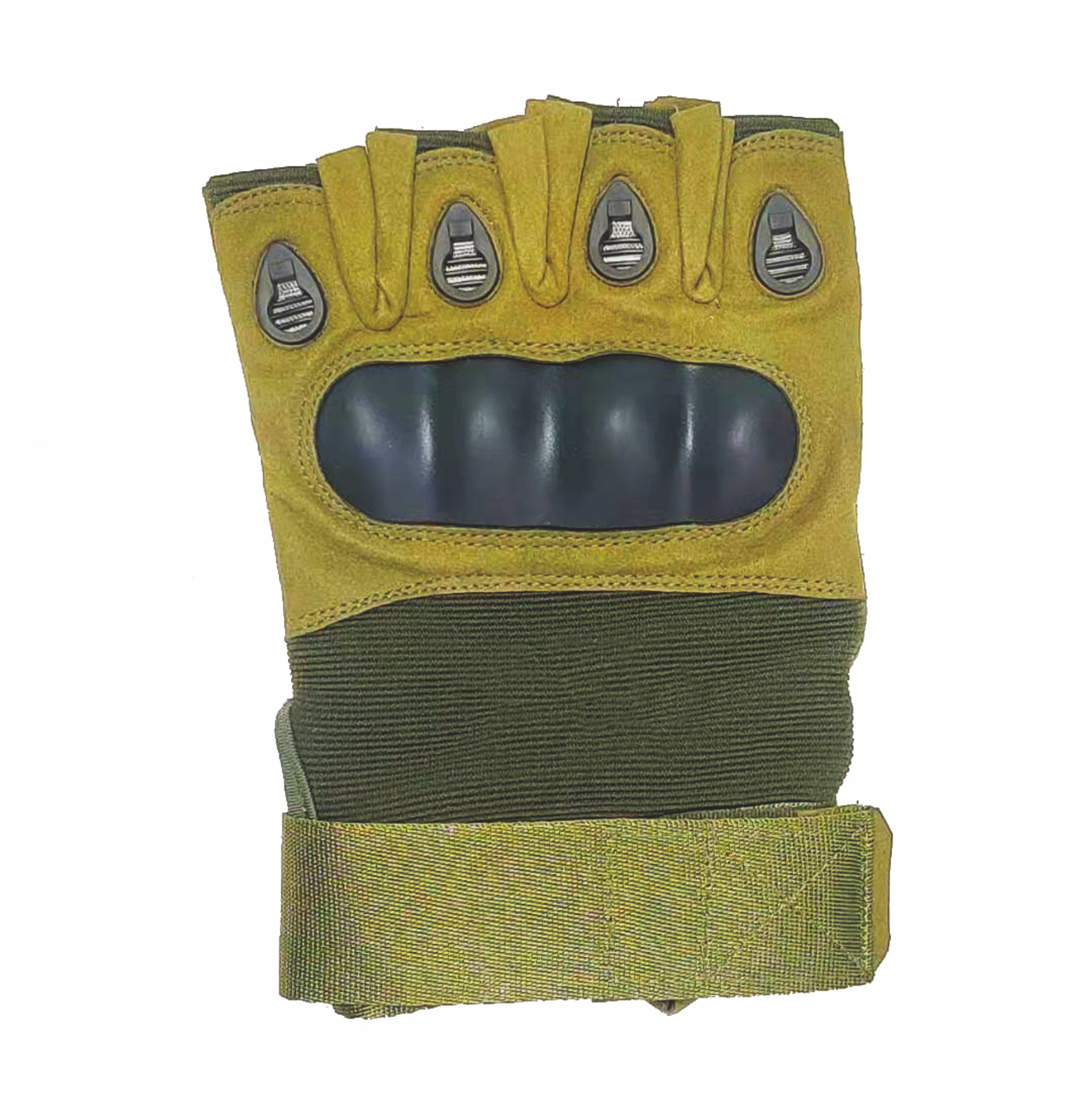 Outdoor military tactical half finger gloves