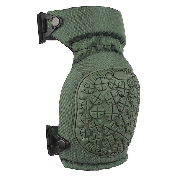 Olive green outdoor military solid color knee pads