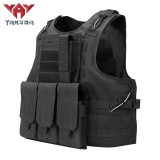Yakeda Fashion multifumctional ajustable shoulder strap vest packs for hanging accessories tactical vest military vest