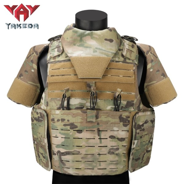 Yakeda Military Full body Armor Protection Bulletproof Custom Vest for Army Security Vests Plate Carrier