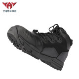 Botas Militares Police Army Boot Waterproof Hiking Boot Combat Tactical Leather Black Military Boots For Men