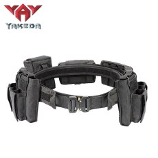 Yakeda Army User Outdoor Black Hunting Tactics Law Enforcement  Duty Security Traffic Police Belt