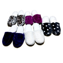 SEARS Indoor Winter Anti Slip Fabric Slippers