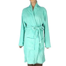 Ladies Coral Fleece Bathrobes with Random Weights and Colors