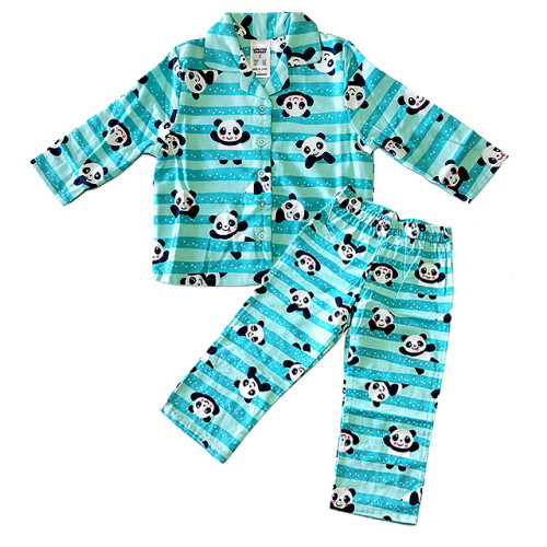 BIG W Printed Flannel Pajama Suits for Boys and Girls