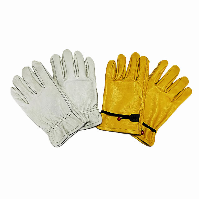 WELLS LAMONT Work Safety Leather Gloves