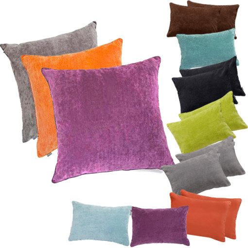 HOMETRENDS Chenille Cushion Covers