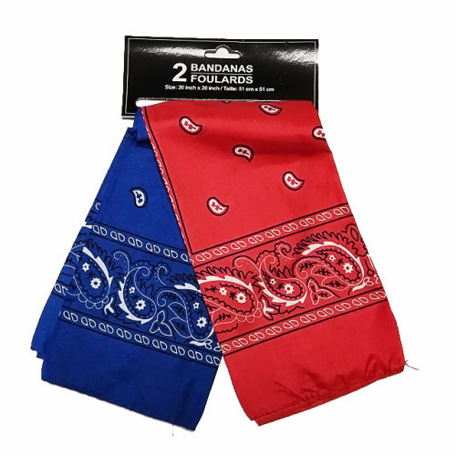BANDANAS FOULARDS Ladies Polyester Kerchiefs