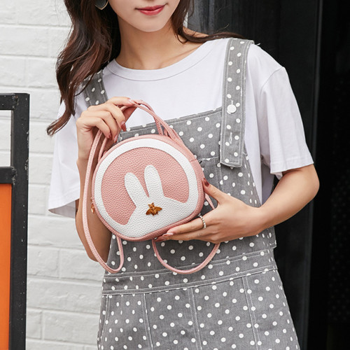 Girls PU Leather Handcarry Shoulder Bags
