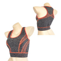 Ladies Polyester Fashion Flexible Yoga Vest and Camisole Tops