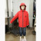 Kids Double Layers Hoody Wind Water Proof Hiking Jackets