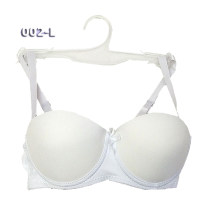 DAISY TOWERS Ladies White Bras with Hangers