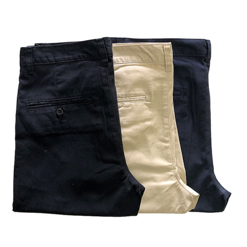 Mens Casual Dress TC Twill Pants with Four Pockets