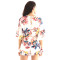 Ladies Chiffon Romper Jumpsuits with Lining Panties