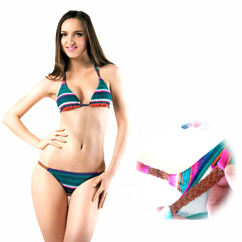 Brazilian Polyamide Bikini Swimsuits for Teen Girls and Young Ladies