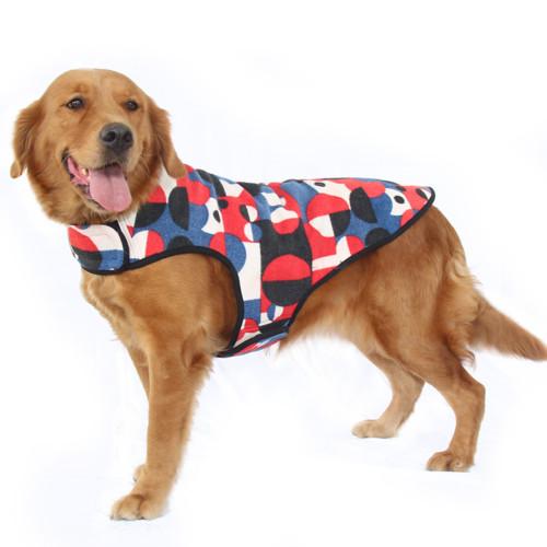 New Big Dog Clothes Spring Autumn Winter Big Dog Vest Labrador Golden Retriever Alaskan Malamute Big Dog Pet Clothing (2 Colors 2XL-6XL)