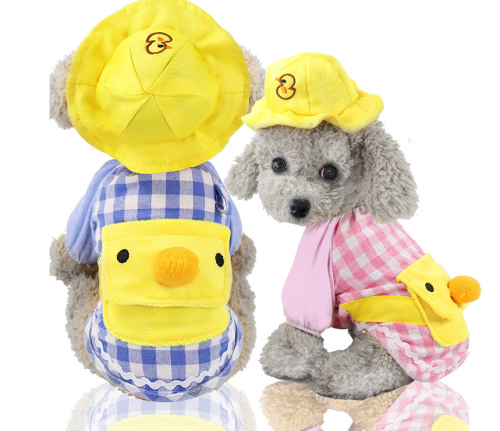 Lattice Pet Clothes for Dog Pajamas Onesies Soft Cute
