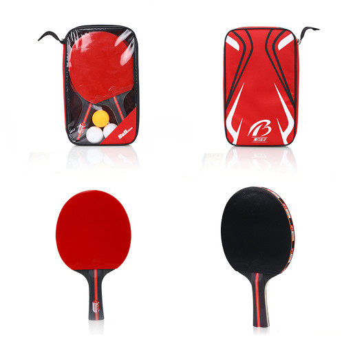 Ping Pong Paddle Set Includes 2 Ping Pong Paddles with 3 Ping Pong Balls for Table Tennis