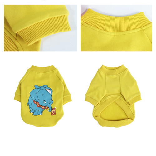 Pet clothing new dog clothes tide brand fight Teddy than panda clothes spring and autumn clothes two-legged clothes